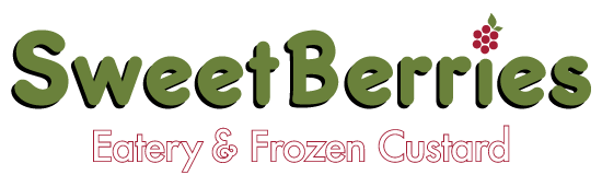 SweetBerries Eatery & Frozen Custard Logo