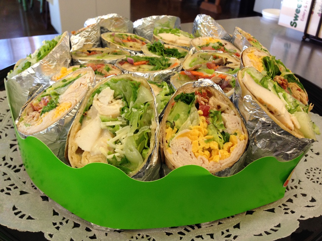 Mixed Wrap Platter